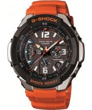 Casio GW-3000M-4AER メンズG-SHOCKのラジコンオレンジ色の太陽電池時計