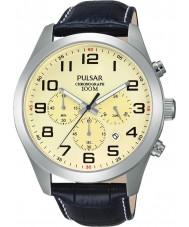 Pulsar PT3665X1 メンズスポーツウォッチ