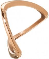 Edblad 3153441918-S サイズn(S) - レディースカバラは金のリングをメッキローズ