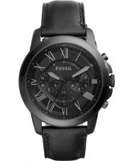 Fossil FS5132 メンズ黒のクロノグラフ時計を付与します