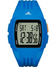 Adidas Performance ADP3234 Duramo青色の樹脂ストラップ時計