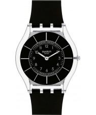 Swatch SFK361 スキン - 黒classiness腕時計