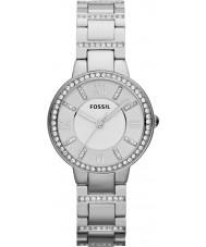 Fossil ES3282 レディースバージニア銀鋼の腕時計