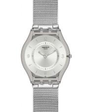 Swatch SFM118M スキン - 金属ニット時計