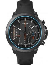 Timex T2P272 メンズブラックTシリーズリニアクロノグラフウォッチ