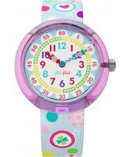 Flik Flak FBNP064 女の子砂糖こぶ状のマルチカラーの腕時計