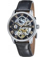 Thomas Earnshaw ES-8006-04 メンズ経度黒クロコ革ストラップの時計