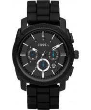 Fossil FS4487 メンズ機械クロノグラフ黒の時計