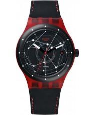 Swatch SUTR400 Sistem51  -  SISTEM赤自動時計