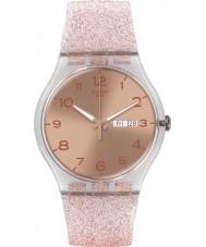 Swatch SUOK703 新しい紳士 - ピンクglistar時計