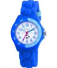 Tikkers TK0002 キッズ青いゴム製の時計