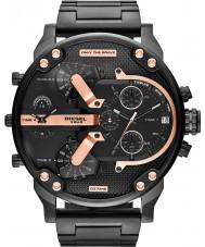 Diesel DZ7312 メンズミスターパパ2.0ブラックIP多機能腕時計