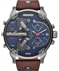 Diesel DZ7314 メンズミスターパパ2.0青茶色の多機能時計