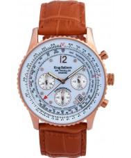 Krug-Baumen 400701DS メンズオレンジレザーストラップの腕時計