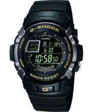 Casio G-7710-1ER メンズG-SHOCK黒自動照明時計