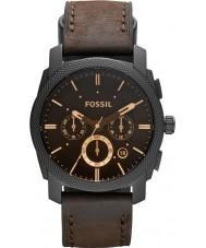 Fossil FS4656 メンズ機械クロノグラフブラウンウォッチ