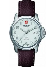 Swiss Military 6-4231-04-001 スイスの兵士プライムブラウンレザーストラップウォッチメンズ