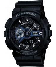 Casio GA-110-1BER メンズG-SHOCKブラックのコンビワールドタイムの腕時計
