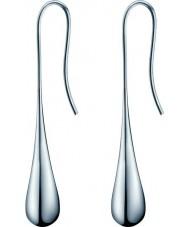 Calvin Klein KJ3QME000100 レディース銀鋼のイヤリングを楕円