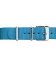 Timex TW7C07400 ウィークエンダーフェアフィールドブルーのナイロンストラップ