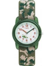 Timex T78141 キッズ迷彩腕時計