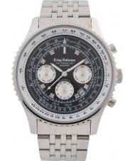 Krug-Baumen 600303DSA メンズエアトラベラーダイヤモンド自動腕時計