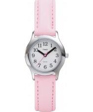Timex T79081 キッズホワイトピンクの私の最初の時計
