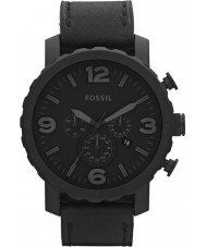 Fossil JR1354 メンズネイトクロノグラフ黒の時計