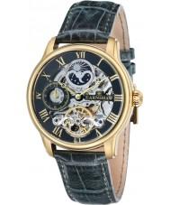 Thomas Earnshaw ES-8006-09 メンズ経度グリーンレザー自動時計
