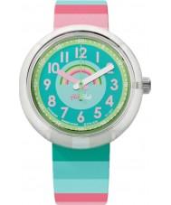 Flik Flak FPNP014 ストライプ夢の腕時計