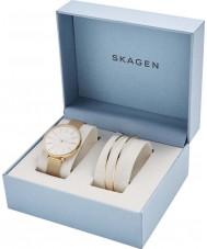 Skagen SKW1104 レディースカロリーナ時計ギフトセット