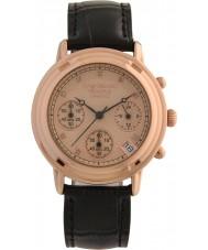 Krug-Baumen 150577DL 原理ダイヤモンドレディースゴールドストラップ時計をバラ