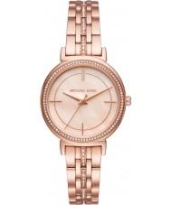 Michael Kors MK3643 レディースcinthiaは、金メッキブレスレットの時計をバラ