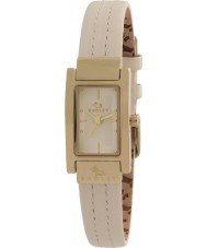 Radley RY2050 レディースステッチクリームレザーストラップの腕時計