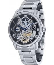 Thomas Earnshaw ES-8006-11 メンズ経度銀のブレスレット自動時計