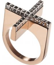 Edblad 82807 サイズn(S) - レディースダダは、金の指輪をバラ