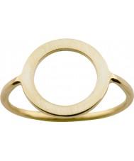 Nordahl Jewellery 125211-58 レディースゴールド金色のリング - サイズq