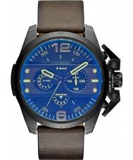 Diesel DZ4364 メンズアイアンサイドクロノグラフブラウン、グリーンの時計