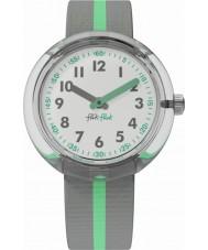 Flik Flak FPNP022 グリーンバンドの時計