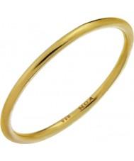 Nordahl Jewellery 125233-56 レディースゴールド金色のリングをメッキ - サイズp