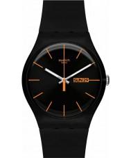 Swatch SUOB704 新しい紳士 - ダーク反乱時計