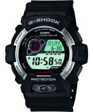 Casio GR-8900-1ER メンズG-SHOCKの太陽光発電の黒色樹脂ストラップ時計