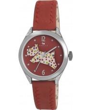 Radley RY2175 レディース赤い革ストラップの時計