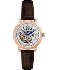 Rotary GS90505-06 メンズレORIGINALESジュラ自動スケルトンは金時計をバラ