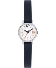 Orla Kiely OK2009 レディースフランキーネイビーレザーストラップの腕時計