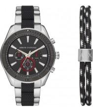 Armani Exchange AX7106 メンズスポーツ時計ギフトセット