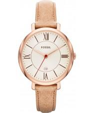 Fossil ES3487 レディースジャクリーン砂レザーストラップの腕時計