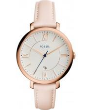 Fossil ES3988 レディースジャクリーン光赤面レザーストラップの腕時計