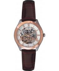 Rotary GS90511-21 メンズレORIGINALESジュラ自動スケルトンは金時計をバラ