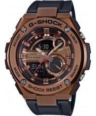 Casio GST-210B-4AER メンズG-SHOCKのオートライトブラック樹脂ストラップ時計を主導しました